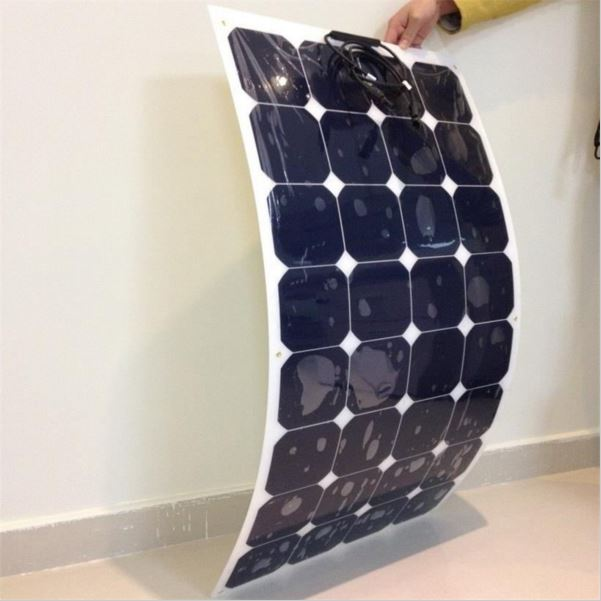 Panel Solar Flexible Monocristalino 100W