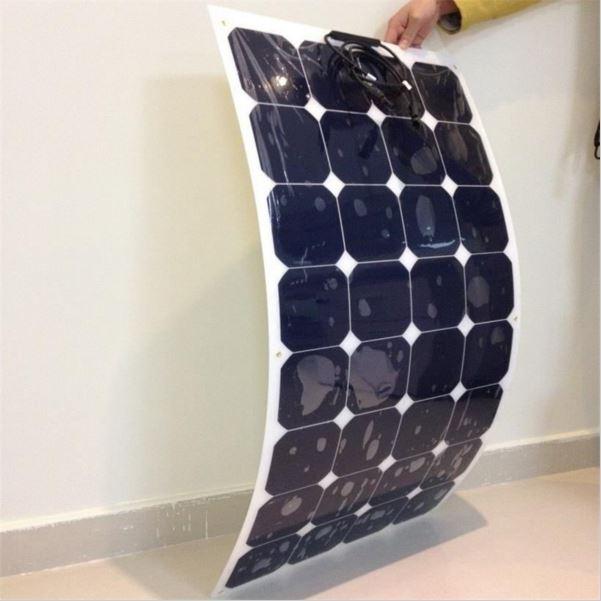 Panel Solar Flexible Monocristalino 100W