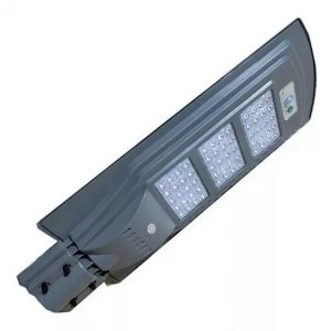 Lampara LED 60W panel solar integrado