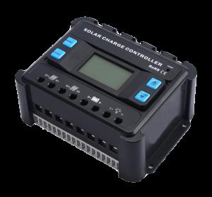 Controlador de carga solar PWM o MPPT 12v/24v/48v DC energia solar