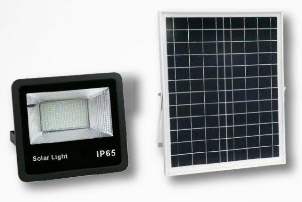 Reflector 100W-200W-300W con Panel Solar